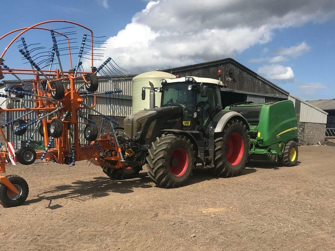 abimac tractor front rake4